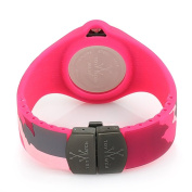 Toy Watch Women's JYA02PS Jelly Army Pink Camo Rubber Watch
