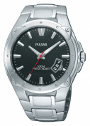 Pulsar Men's PXH823 Sport Black Dial Watch