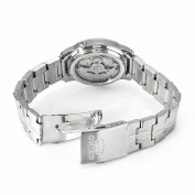Seiko Men's SNKK79 5 Stainless Steel Brown Dial Watch