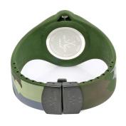 Toy Watch Women's JYA05HG Jelly Army Green Camo Rubber Watch