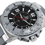 Joshua & Sons Men's JS-38-GY Bold Swiss Quartz Silicon Strap Watch