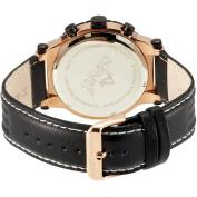 August Steiner Men's ASA814RG Swiss Quartz Sport Chronograph Date Watch