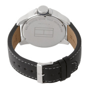 Tommy Hilfiger Men's 1790714 Sport Stainless Steel Case with Leather Strap Watch