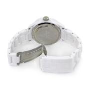 Toy Watch Unisex FL01WHYL Crystal Plasteramic Watch