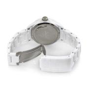Toy Watch Unisex FL01WHVL Crystal Plasteramic Watch