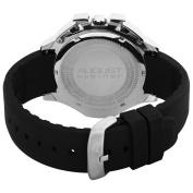 August Steiner Men's ASA803R Stainless Steel Sport Chronograph GMT Watch