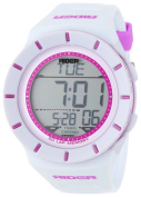 Rockwell Time Unisex RCL107 Coliseum White Band Purple Accent Digital Watch