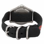 Momentum Women's 1M-SP01B8B Atlas Black Dial Re-Ply Nylon Strap Watch