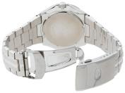 Seiko Men's SGEE55 Sporty Dress Silver-Tone Watch