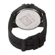 Marc Ecko Men's E12583G3 The E-GO Date Black and Red Dial Watch