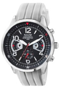 Accurist Mens Acctiv Sports Chronograph White Silicone Strap Watch