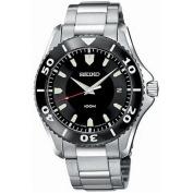 Seiko Men's SGEB75 Silver Tone Watch