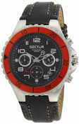 Sector Men's Watch R8309892003.5cm Collection 175, Chrono with Black Dial / Strap