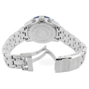 Invicta Men's 11452 Pro Diver Chronograph Silver Textured Dial Stainless Steel Watch