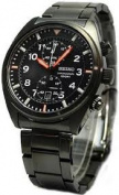Seiko Men's SNN237P1 Sports Black Chronograph Dial Watch