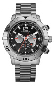 Nautica Men's 25007G NCS-46 Stainless Steel Chronograph Watch