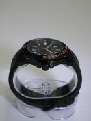 Wenger Men's 78275 GST Diver Black Rubber Strap Watch