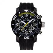 """TW Steel Men's TW188cm Grandeur Divers"""" Black Watch"""