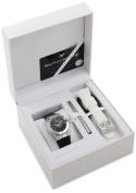TechnoMarine Women's 110036 Cruise Original 3 Hands Black Dial Watch
