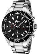 Lacoste Sportswear Collection Sport Navigator Chrono Black Dial Men's watch #2010460