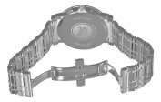 Burberry Men's BU1372 Heritage Silver Chronograph Dial Bracelet Watch