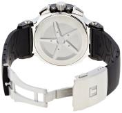 Tissot Men's T0484172703700 T-Race Quartz White Chronograph Dial Watch