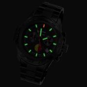 Armourlite ShatterProof Scratch Resistant High Impact Glass FireFighter Edition H3 Tritium 100m Watch