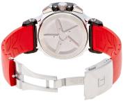 Tissot Men's T0484172705701 T-Race Red Strap Chronograph Watch