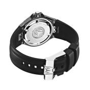 TechnoMarine Women's 110026 Cruise Ceramic 3 Hands Black Dial Watch