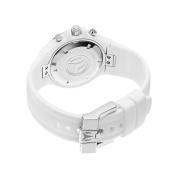 TechnoMarine Unisex 110030 Cruise Ceramic Chronograph White Dial Watch