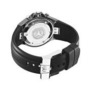 TechnoMarine Unisex 110028 Cruise Ceramic Chronograph Black Dial Watch