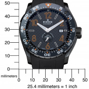 Edox Men's 96001 37NO NIO2 Class-1 Iceman Limited Edition Watch