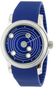 Fortis Men's 677.20.35 SI.05 B-47 Mysterious Planets Swiss Automatic Blue Dial Silicon Exhibition Diving Watch