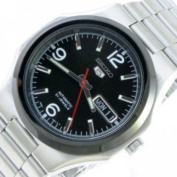 Seiko SNKK61K1 Men's Automatic 21 Jewels Stainless Steel with Black Dial