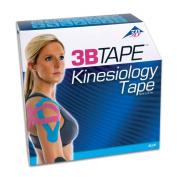 3B Scientific Blue Cotton Kinesiology Tape, Bulk Roll, 5.1cm Width x 101' Length