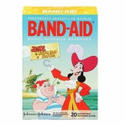 Band-Aid Brand Adhesive Bandages, Jake and The Never Land Pirates, 20 Count