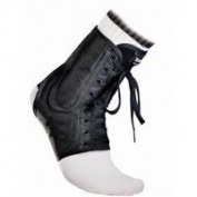 199T-BL-S Brace Ankle Two Layered Polyester/Vinyl Mesh Black Small Part# 199T-BL-S by McDavid Knee Guard, Inc. Qty of 1 Unit
