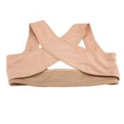 Vktech Lady Chest Brace Support Belt Band Posture Corrector Shoulder Vest X Type Back