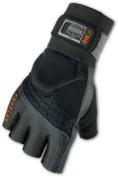 ProFlex 910 Impact Glove with Wrist Support, Black, Medium