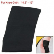 Como Black Elastic Pullover Sports Bandage Knee Protector