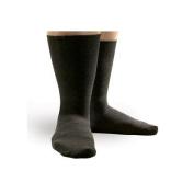 Smartknit Seamless Diabetic X-Static Wide Crew Socks Size
