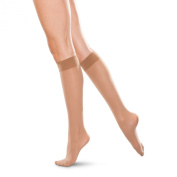 Therafirm Unisex Moderate Support Knee High Stockings 20-30 mmHg Sand Extra Large