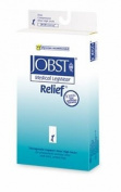 Jobst 114731 Relief 20-30 mmHg Closed Toe Knee Highs Unisex - Size & Colour- Black Medium