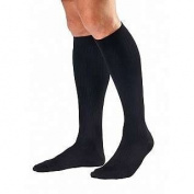 Jobst For Men Knee Compression Socks - (20-30 mmHg) BLACK - XLFC