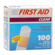 Adhesive Bandages 2.5cm X 7.6cm Box of 100