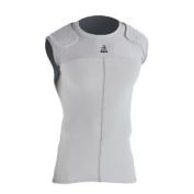McDavid 7900YT Youth Hexpad Bodyshirt With Shoulder Pads Grey Large