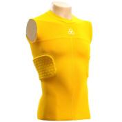 McDavid 791T Hexpad Compression Bodyshirt Rib & Spine Gold L
