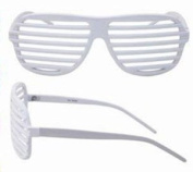Sunglasses Shutter Stronger Shades Glasses Retro White Club Party Rave Hip New