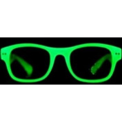 WAYFARER GLOW IN THE DARK PARTY SUN-GLASSES RETRO NEW