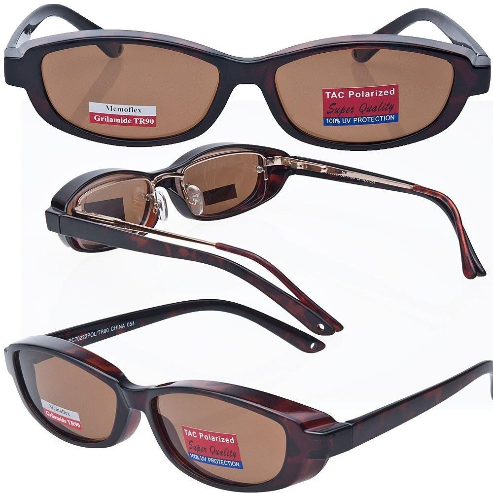 00da80d1a8 Slim Jane Mini Over-Prescription Sunglasses Copper Bronze Polarised ...